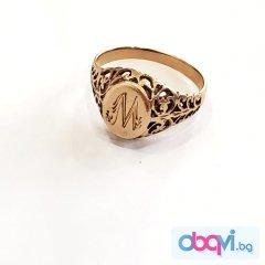Златен пръстен- 3,66 гр.