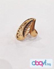 Златен пръстен- 8,11 гр.
