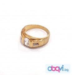 Златен пръстен- 4,39 гр.