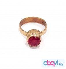 Златен пръстен- 3,98 гр.