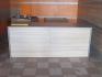 Плот(работна маса) и двойна мивка с шкафове за бърза закуска/дюнер