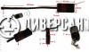 Скрита камера модул за вграждане 239