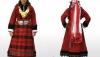 Традиционна, родопска забрадка (тестемел) - част от родопска носия + ПОДАРЪК