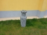 Дървена ваза за цветя DV003
