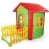 Къщичка с ограда