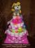 Торта от памперси и играчки