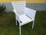 НОВО! Стол от изк.ратан BR 4050 бял