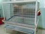 Продавам алуминиеви клетки за кокошки носачкки