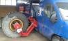 Машина за ТИР гуми за мобилен сервиз