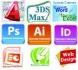 Специализирани компютърни курсове в София: AutoCAD, 3D Studio Max, Adobe Photoshop, InDesign, Illustrator, CorelDraw...