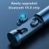 B9 Безжични слушалки,Bluetooth V5.0 8D HIFI ,шумопотискане и HD микрофон