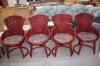 Ратанови столове 4 броя