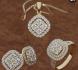 Ексклузивен комплект 18 К злато и диаманти