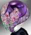Искрящ сребърен пръстен с диаманти, нов