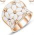 Пръстен розово злато и австрийски кристали