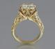Луксозен златен пръстен 18 Карата