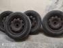 Метални джанти 15 цола с гуми Мишелин 4 бр. за Голф 4
