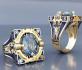 Ексклузивен дамски пръстен със сапфир